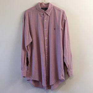 """Ralph Lauren Men's Yarmouth Sz 15 1/2"""" dress shirt"""